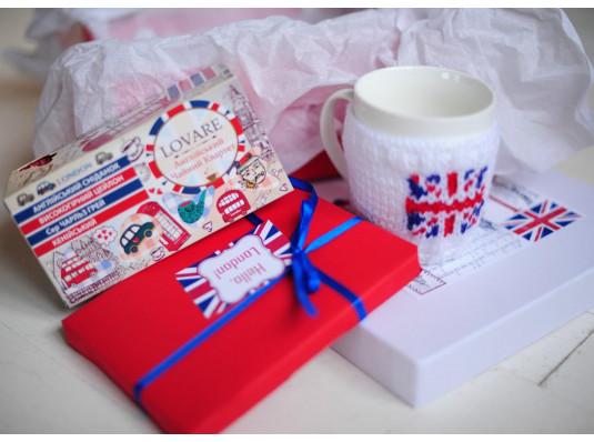 Подарочный набор «Hello, London» купить в интернет магазине подарков ПраздникШоп