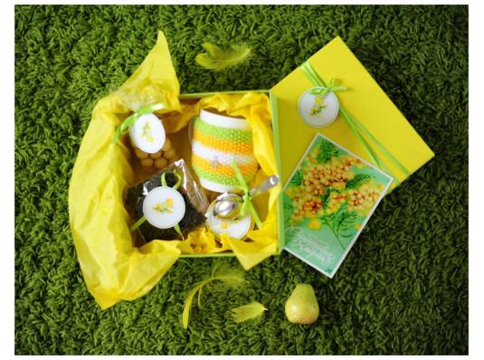 Подарочный набор «Мимоза» купить в интернет магазине подарков ПраздникШоп