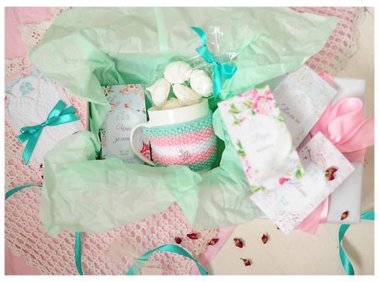 Подарочный набор «Чайное творчество» купить в интернет магазине подарков ПраздникШоп