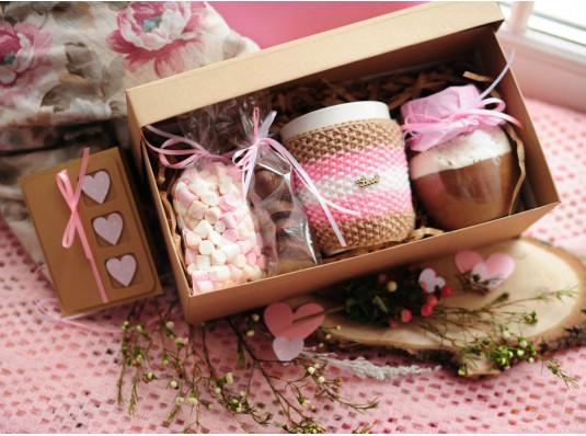 """Подарочный набор """"Choco Valentine"""" купить в интернет магазине подарков ПраздникШоп"""