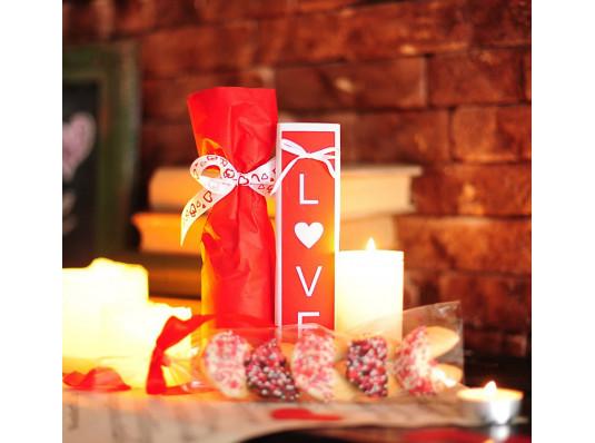 """Подарочный набор """"Love Champange"""" купить в интернет магазине подарков ПраздникШоп"""