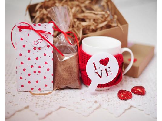 """Подарочный набор """"Love Coffe"""" купить в интернет магазине подарков ПраздникШоп"""