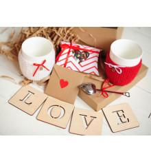 """Подарочный набор """"Гарячі серця"""" купить в интернет магазине подарков ПраздникШоп"""