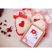 """Подарочный набор """"Мішечки з коханням"""" купить в интернет магазине подарков ПраздникШоп"""