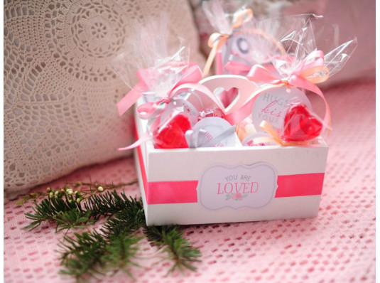 """Подарочный набор """"Солодкі почуття"""" купить в интернет магазине подарков ПраздникШоп"""