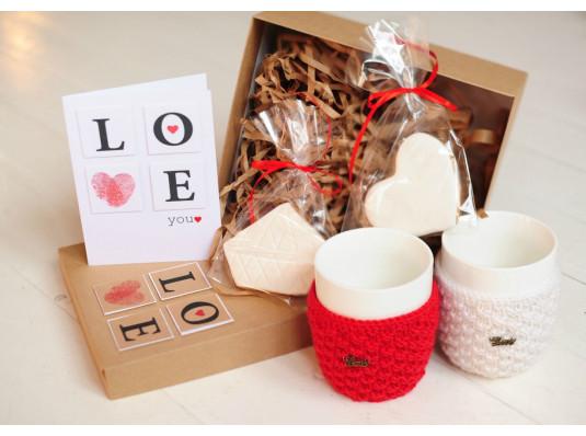 """Подарочный набор """"Чай вдвоем"""" купить в интернет магазине подарков ПраздникШоп"""