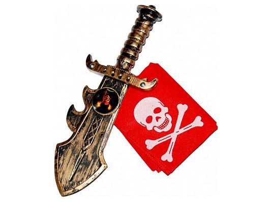 Набор пирата с кинжалом купить в интернет магазине подарков ПраздникШоп
