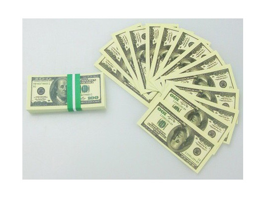 """Пачка 100 баксов мини """"Конфетти"""" купить в интернет магазине подарков ПраздникШоп"""