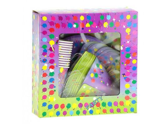 Party набор - тарелки/стаканы/миски/колпачки купить в интернет магазине подарков ПраздникШоп