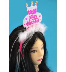 """Обруч """"Торт Happy Birthday"""" купить в интернет магазине подарков ПраздникШоп"""