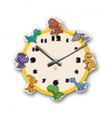 Часы настенные Dinosaurs купить в интернет магазине подарков ПраздникШоп