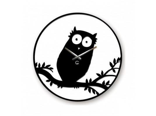 Часы настенные Owl купить в интернет магазине подарков ПраздникШоп