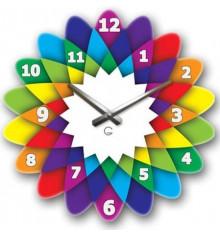 Часы современные Kaleidoscope купить в интернет магазине подарков ПраздникШоп