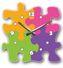 Часы современные Puzzle купить в интернет магазине подарков ПраздникШоп