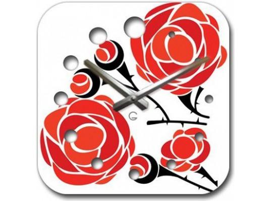Часы современные Rose купить в интернет магазине подарков ПраздникШоп