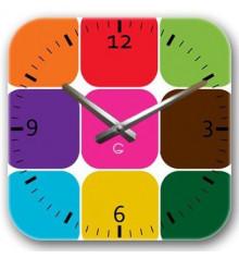 Часы декоративные Palette купить в интернет магазине подарков ПраздникШоп