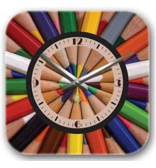 Часы декоративные Pencils купить в интернет магазине подарков ПраздникШоп