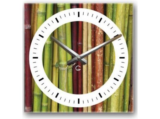 Часы декоративные Bamboo купить в интернет магазине подарков ПраздникШоп