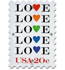Постер Марка Glozis Love купить в интернет магазине подарков ПраздникШоп