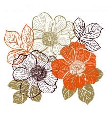 Виниловая наклейка Bouquet купить в интернет магазине подарков ПраздникШоп