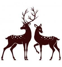 Виниловая наклейка Deer купить в интернет магазине подарков ПраздникШоп