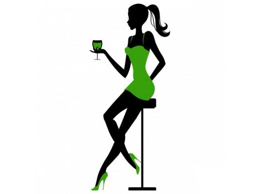 Виниловая наклейка Cocktail Party купить в интернет магазине подарков ПраздникШоп
