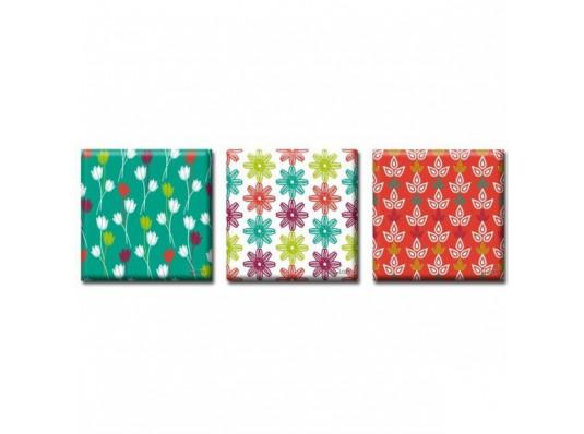 Картина триптих Garden купить в интернет магазине подарков ПраздникШоп