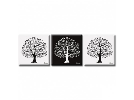 Картина триптих Harmony купить в интернет магазине подарков ПраздникШоп