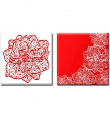 Картина диптих Orchid купить в интернет магазине подарков ПраздникШоп