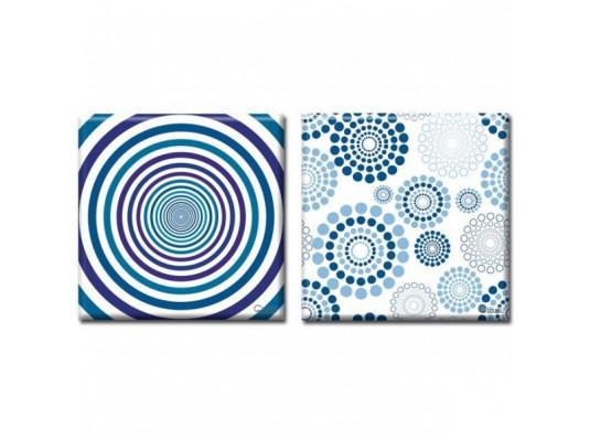 Картина диптих Hypnosis купить в интернет магазине подарков ПраздникШоп
