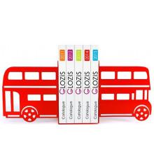 Упоры для книг Glozis Bus купить в интернет магазине подарков ПраздникШоп