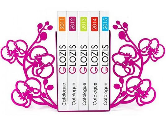 Упоры для книг Glozis Orchid купить в интернет магазине подарков ПраздникШоп