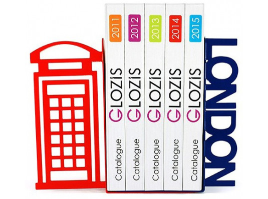 Упоры для книг Glozis London купить в интернет магазине подарков ПраздникШоп