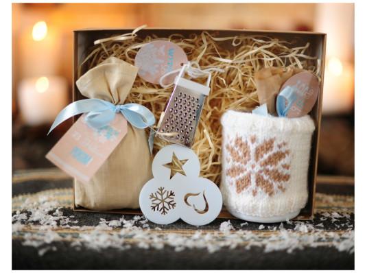 """Подарочный набор """"Новогодний капучино"""" купить в интернет магазине подарков ПраздникШоп"""