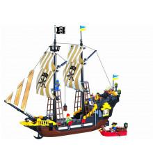 """Конструктор Briks """"Пиратский корабль"""" купить в интернет магазине подарков ПраздникШоп"""