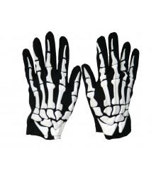 Перчатки скелета тканевые купить в интернет магазине подарков ПраздникШоп