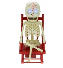 Скелет в кресле купить в интернет магазине подарков ПраздникШоп