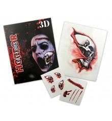 Татуировки кровавые 3D, 5 видов купить в интернет магазине подарков ПраздникШоп