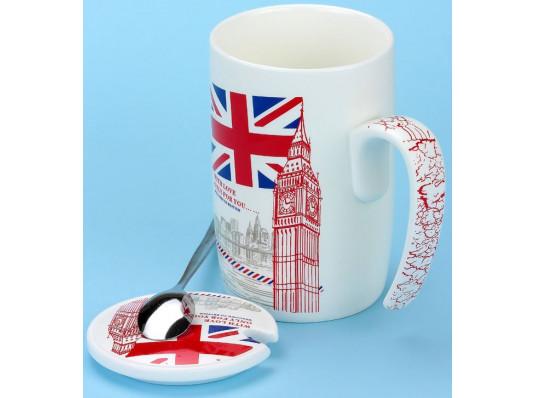 """Кружка """"letter from LONDON"""" купить в интернет магазине подарков ПраздникШоп"""