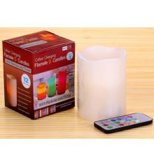 Свеча LED с пультом ДУ и таймером купить в интернет магазине подарков ПраздникШоп