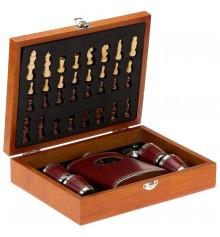 Шахматы - джентельменский набор купить в интернет магазине подарков ПраздникШоп