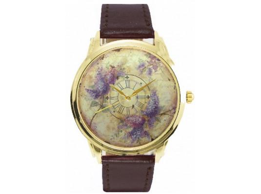 """Наручные часы """"Сирень"""" купить в интернет магазине подарков ПраздникШоп"""