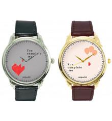 """Наручные часы """"You complete me"""" купить в интернет магазине подарков ПраздникШоп"""