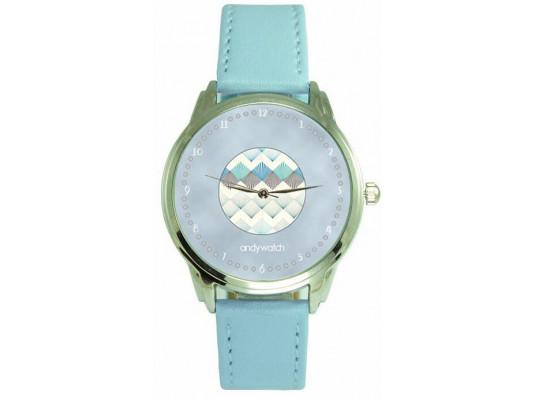 """Наручные часы """"Голубой узор"""" купить в интернет магазине подарков ПраздникШоп"""