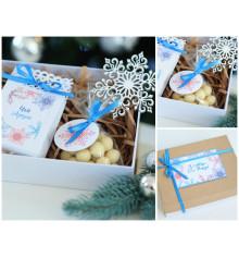 """Подарочный набор """"Snowflakes"""" купить в интернет магазине подарков ПраздникШоп"""