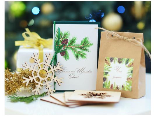 """Подарочный набор """"Зимний чай"""" купить в интернет магазине подарков ПраздникШоп"""