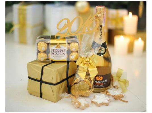 """Подарочный набор """"Gold"""" купить в интернет магазине подарков ПраздникШоп"""