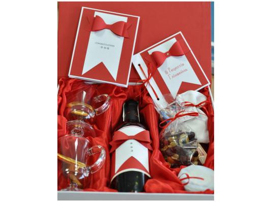 """Подарочный набор """"Глинтвейн для Джентльмена"""" купить в интернет магазине подарков ПраздникШоп"""