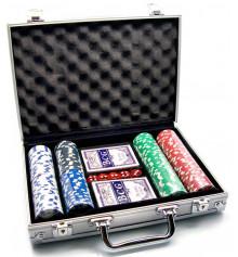 Покерный набор в алюминиевом кейсе купить в интернет магазине подарков ПраздникШоп
