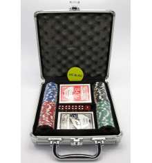 Покерный набор в кейсе купить в интернет магазине подарков ПраздникШоп